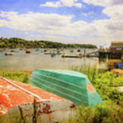 Mackerel Cove Dory And Dinghy   Poster