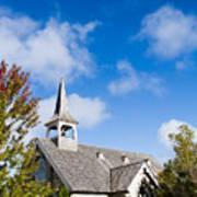 Mackinac Island Church Poster