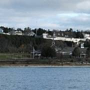 Mackinac Island Panorama Poster