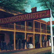 Macomb's Dam Hotel Poster