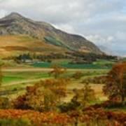 Macpherson Autumn - The Clan Macphersons Seat  Poster by John Kelly