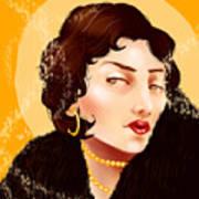 Madam Carbon Poster