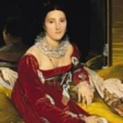 Madame De Senonnes Poster by Ingres
