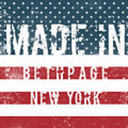 Made In Bethpage, New York Poster