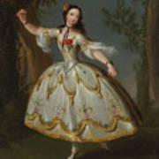 Mademoiselle Violette Dancing Poster
