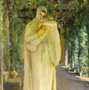 Madonna Of The Arbor Poster