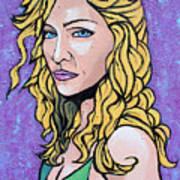 Madonna Poster by Sarah Crumpler