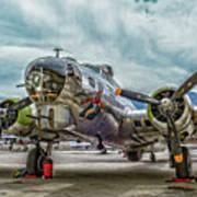 Madras Maiden B-17 Bomber Poster