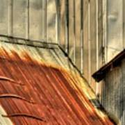 Madsen Grain Roof Poster