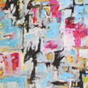 Magenta Abstract I Poster