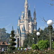 Magic Kingdom Castle Poster