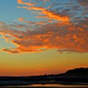 Magic Moments Over Cape Cod Bay Poster