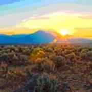 Magic Over Taos Poster