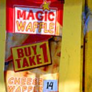 Magic Waffle Poster