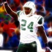 Magical Darrelle Revis Poster by Paul Van Scott