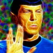 Magical Mr. Spock Poster