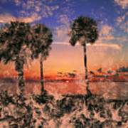 Magical Sunset Poster