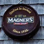 Magners Irish Cider Sign Poster