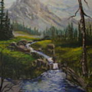 Magnificent Rockies Poster