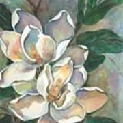 Magnolia Four Poster by Diane Ziemski