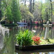 Magnolia Gardens In Charleston Poster