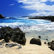 Mahaulepu Koloa Beach Poster