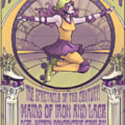 Maids Of Iron And Lace Poster
