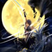 Maikaze Full Moon Poster