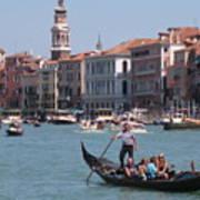 Main Canal Venice Italy Poster