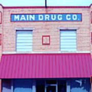 Main Drug Company Poster