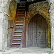 Main Entrance To St Mary's Church At Brading Poster