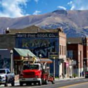 Main Town Street Poster
