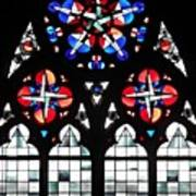 Mainz Cathedral Window Poster