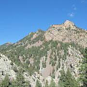 Majestic Eldorado Mountain Poster