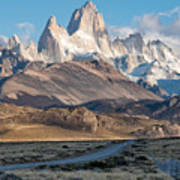 Majestic Fitz Roy Poster