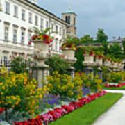 Majestic Salzburg Garden Poster