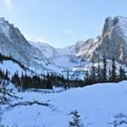 Majestic Winter Landscape Poster