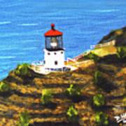 Makapuu Lighthouse #78, Poster