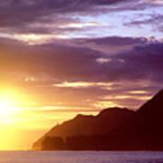 Makapuu Point Sunrise Poster