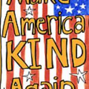 Make America Kind Again Poster