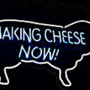 Making Cheese Now Poster