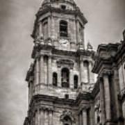 Malaga Cathedral Poster