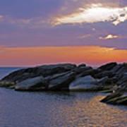 Malawi Sunrise Poster