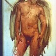 Male Torso Study  Poster