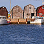 Malpeque Harbour Panorama Poster