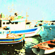 Maltese Harbor Poster