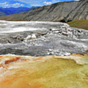 Mammoth Hot Springs1 Poster