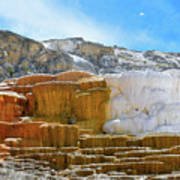 Mammoth Hot Springs4 Poster
