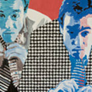 Man In A Houndstooth Suit Poster