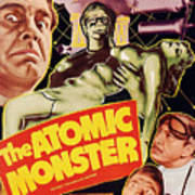 Man Made Monster, Aka The Atomic Poster